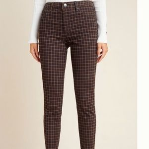 Ella miss NWT plaid skinny jeans